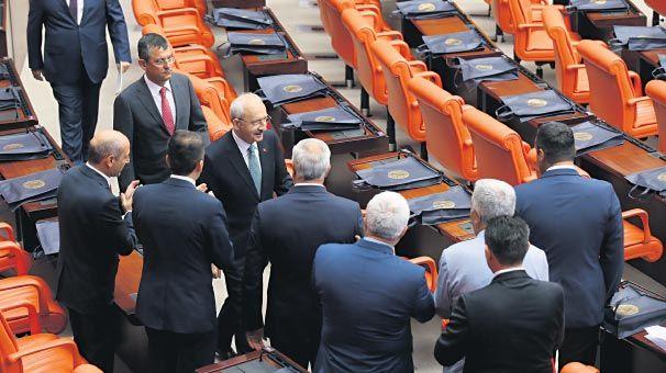 'Ankara'da oturup oy istiyorduk'