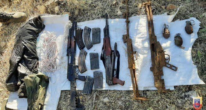 Diyarbakır'da Yıldırım-7 Narko-Terör operasyonunda çok sayıda mühimmat ele geçirildi