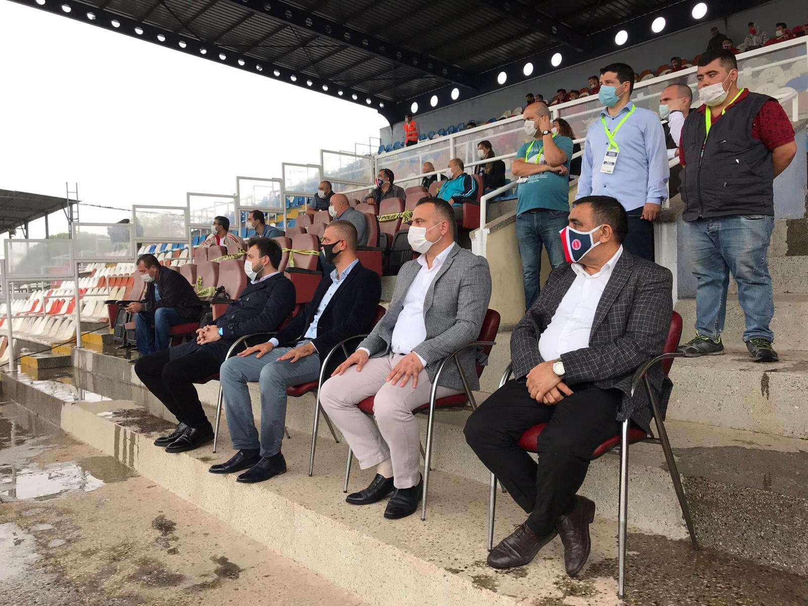 Ziraat Türkiye Kupa müsabakasının galibi Bergama Belediyespor oldu
