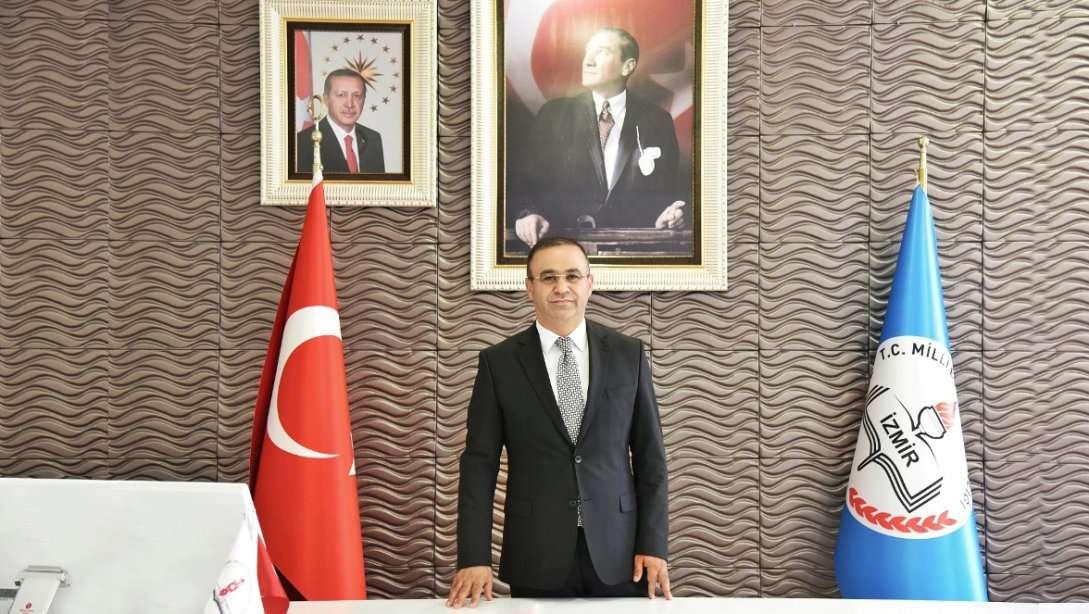 İzmir  İl Milli Eğitim Müdürü Dr. Ömer Yahşi'nin 29 Ekim Cumhuriyet Bayramı Mesajı