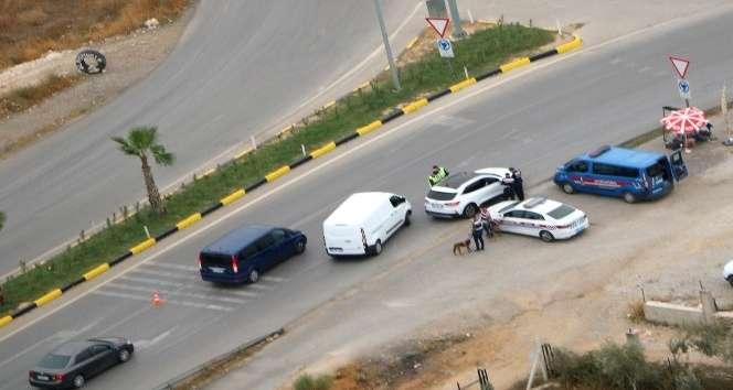 İzmir'de helikopterli trafik denetimi