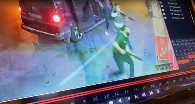 İzmir'de 7 kişi pompalı silah ve sopalarla tekel bayisini bastı