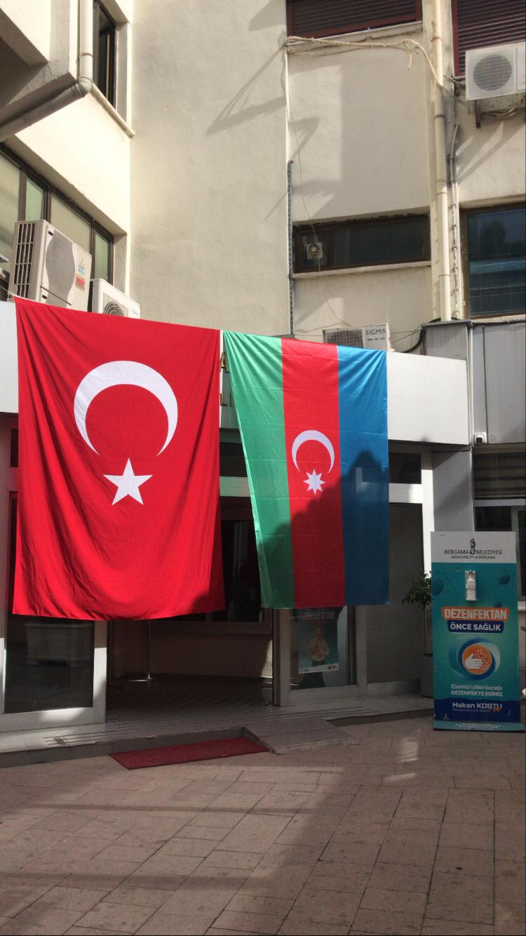 BERGAMA'DAN AZERBAYCAN'A DESTEK