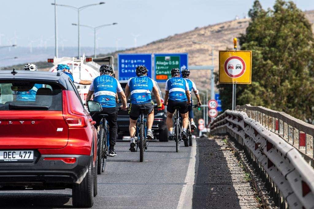 UNESCO Dünya Mirası Yolunda Bergama için pedal bastılar