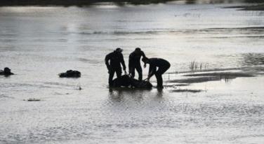 Kızılırmak'ta kimliksiz erkek cesedi bulundu