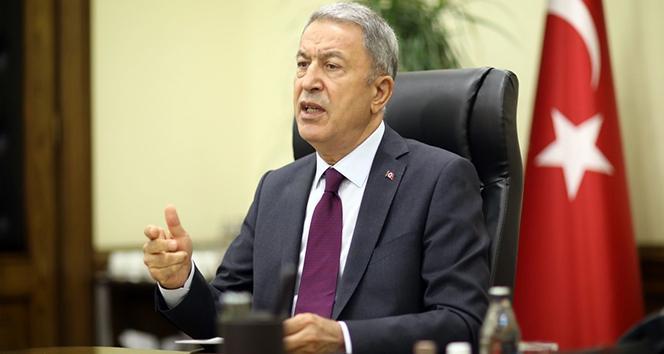 MİLLİ SAVUNMA BAKANI AKAR'DAN AZERBAYCAN İÇİN ÖNEMLİ AÇIKLAMALAR