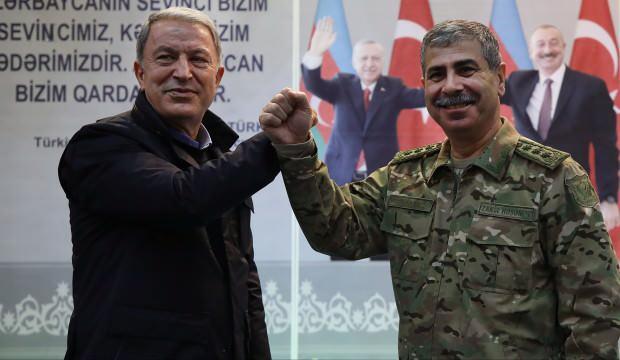 Türkiye ve Azerbaycan'dan Bakü'de net mesaj