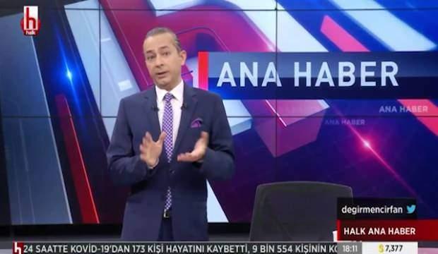 CUMHURBAŞKANI ERDOĞAN AŞI OLURKEN HALK TV SUNUCUSU İRFAN DEĞİRMENCİ'DEN SKANDAL SÖZLER