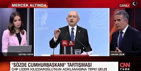 """""""SÖZDE CUMHURBAŞKANI"""" TARTIŞMASI BÜYÜYOR"""