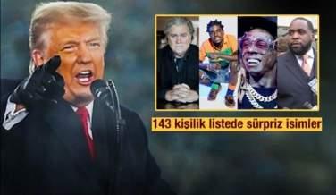 TRUM'TAN GİDERAYAK BOMBA KARAR! HEPSİNE AF ÇIKARDI, SÜRPRİZ İSİMLER..