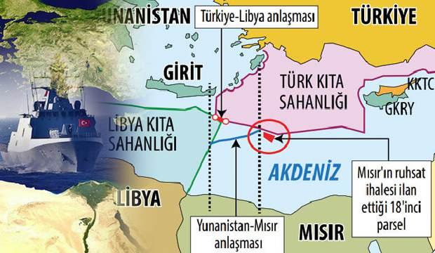 DOĞU AKDENİZ'DE YENİ KRİZ! MISIR'IN TÜRKİYE HAMLESİ YUNANİSTAN'I ÇILDIRTTI