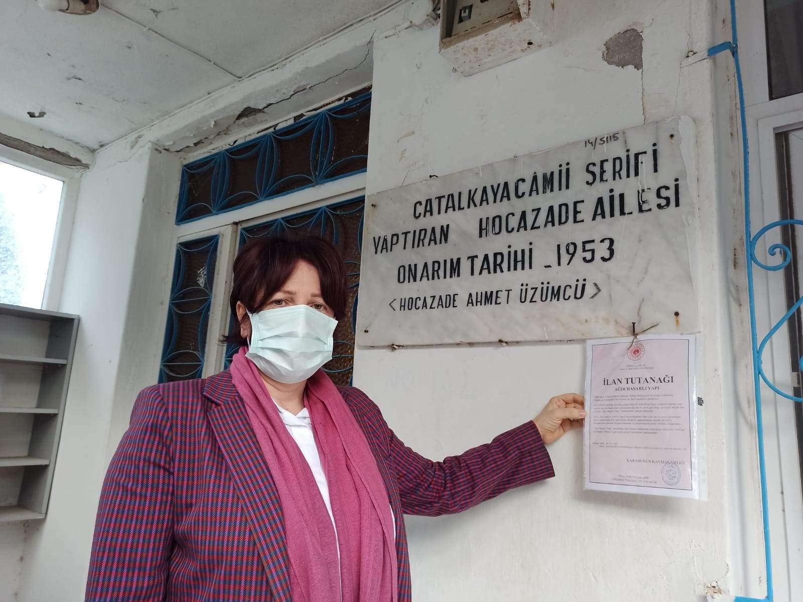 """BİR """"YIKMAYIN"""" ÇAĞRISI DA ÇATALKAYA CAMİSİ İÇİN!"""