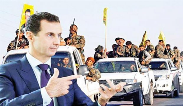 TERÖR ÖRGÜTÜ YPG İLE ESED ANLAŞTI, ABLUKALAR GEVŞETİLİYOR