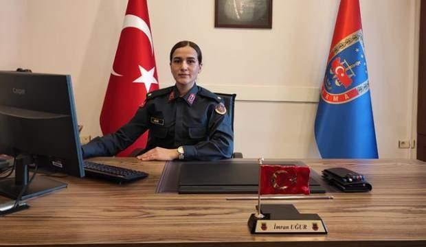 ÇOCUKLUK HAYALİYDİ: İSTANBUL'UN TEK KADIN JANDARMA KARAKOL KOMUTANI