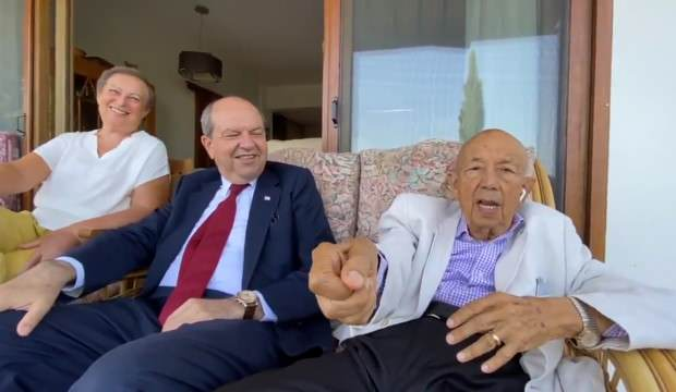 KKTC CUMHURBAŞKANI ERSİN TATAR'IN BABASI VEFAT ETTİ