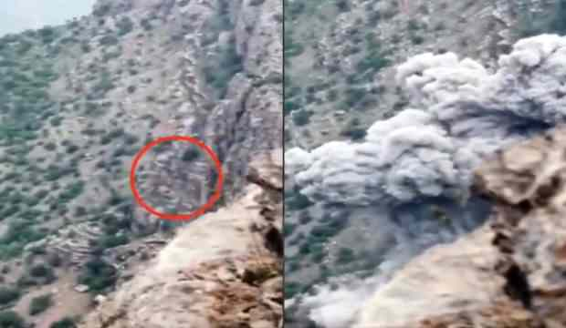 PKK'YA BİR DARBE DAHA: MAĞARAYA SAKLANAN TERÖRİSTLER KURTULAMADI!