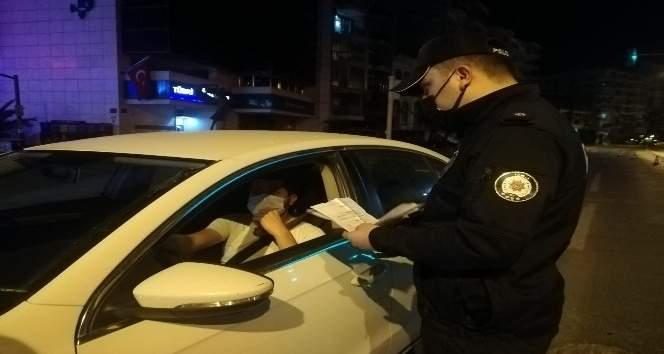 BUCA'DA GECE SAATLERİNDE 'TAM KAPANMA' DENETİMİ