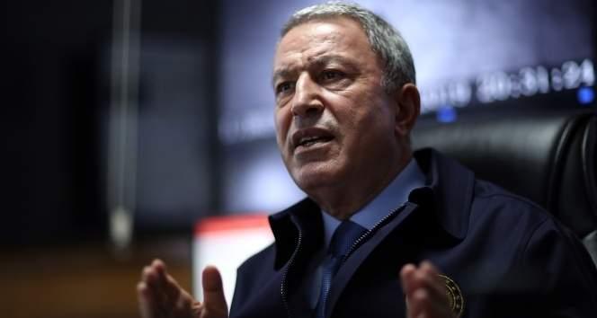 Milli Savunma Bakanı Hulusi Akar'dan Yunanistan'a tepki!