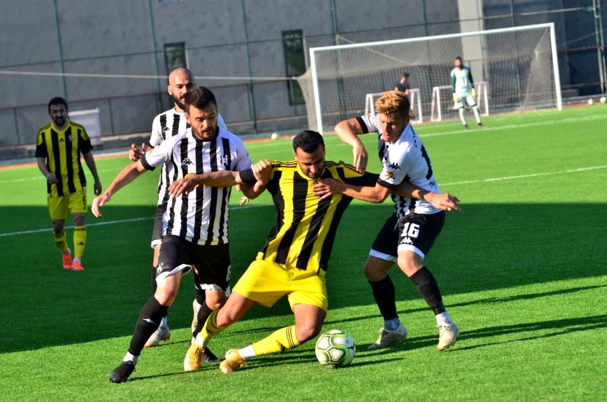 Aliağaspor FK, hazırlık maçında berabere kaldı