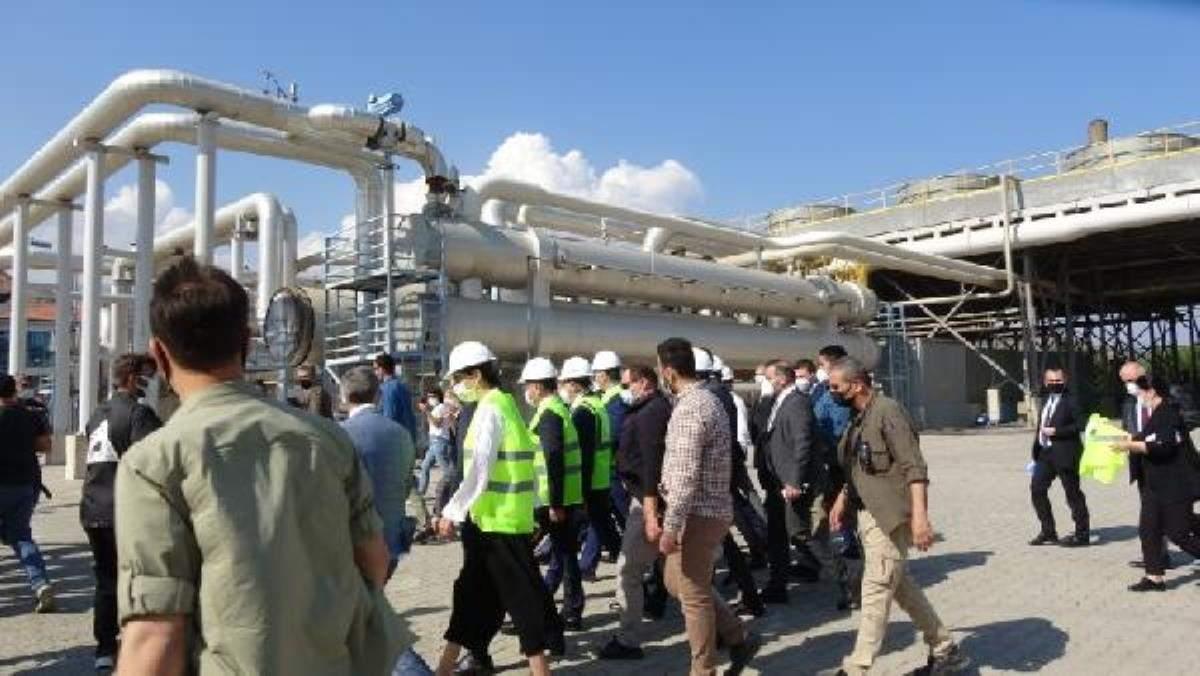 Bakan Dönmez: Hedefimiz 2023 yılında 100 bin varil petrol üretimi (3)