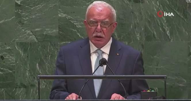 Filistin Dışişleri Bakanı Al-Maliki: 'Şiddetin temel nedeni İsrail'in işgalciliğidir'