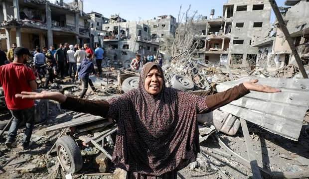 Gazze'de bilanço: Şehit sayısı 124 oldu
