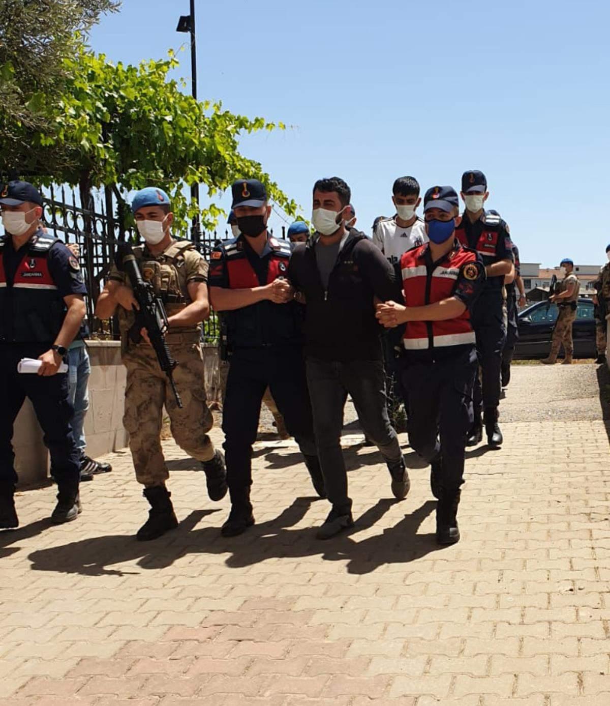 İzmir deki organize suç örgütü operasyonunda yakalanan zanlılardan 7 si tutuklandı