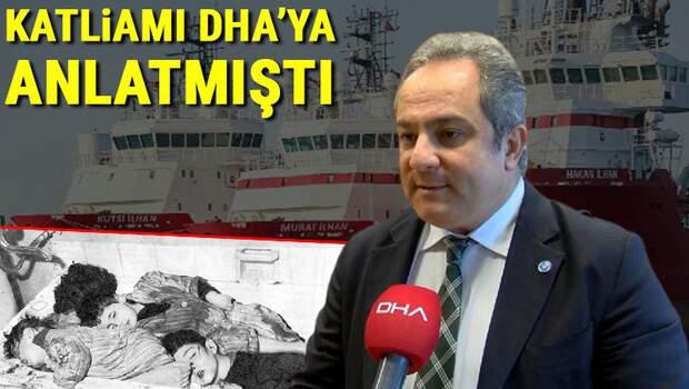Katliamı DHA'ya anlatmıştı… Bilim Kurulu Üyesi Prof. Dr. Mustafa Necmi İlhan'ı duygulandıran jest