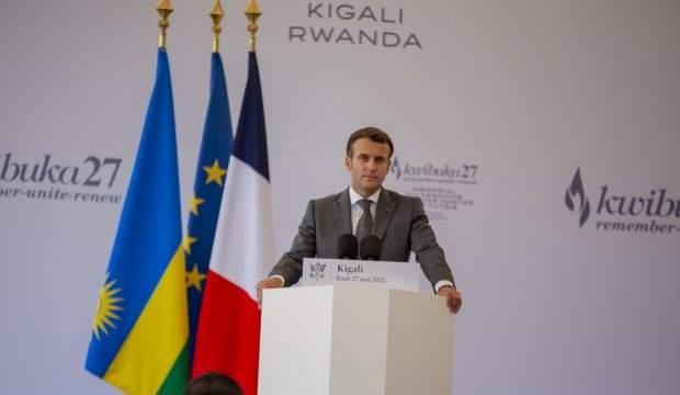 Macron'dan Ruanda'da flaş soykırım açıklaması