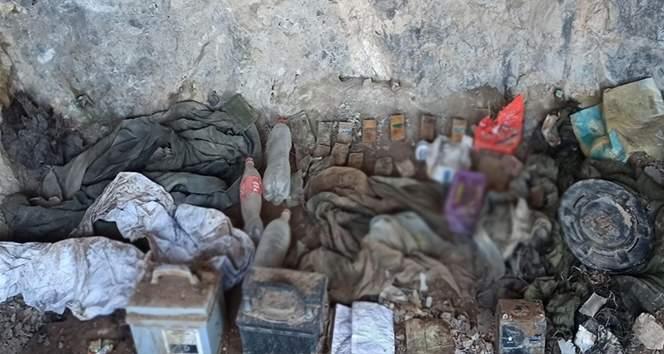 MSB: 'PKK'ya ait çok sayıda silah ve mühimmat ele geçirildi'