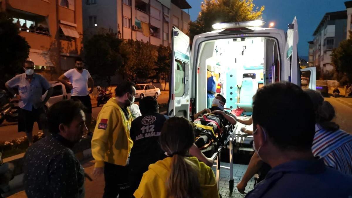 Nazilli de otomobil ile motosiklet çarpıştı: 1 yaralı