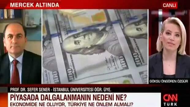 Piyasadaki dalgalanmanın nedeni ne? Sefer Şener CNN TÜRK'te anlattı