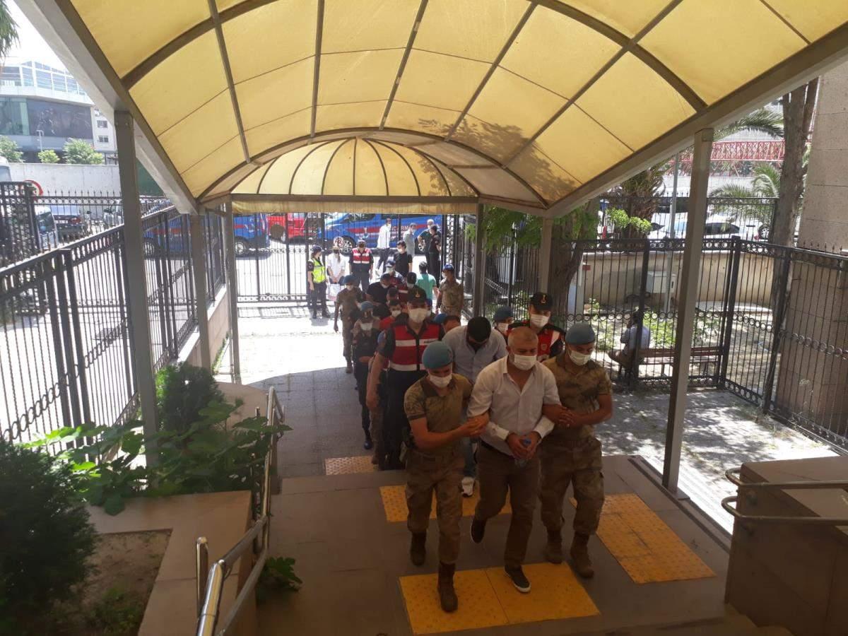 Son dakika gündem: İzmir de rüşvet operasyonunda 11 şüpheli yakalandı
