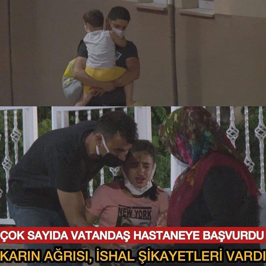 İzmir'de şebeke suyu zehirledi!
