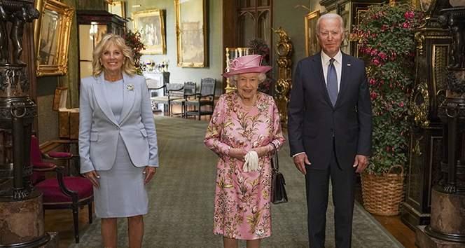 ABD Başkanı Biden: 'Kraliçe bana annemi hatırlattı'