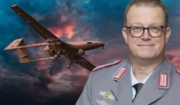Alman komutandan Türk SİHA'ları ile ilgili çarpıcı itiraf