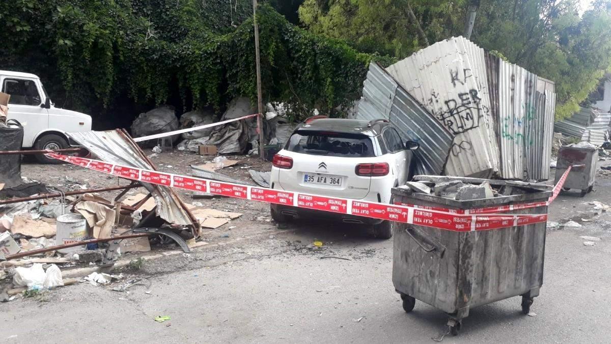 Aracıyla seyir halindeyken silahlı saldırıya uğrayan kişi ağır yaralandı