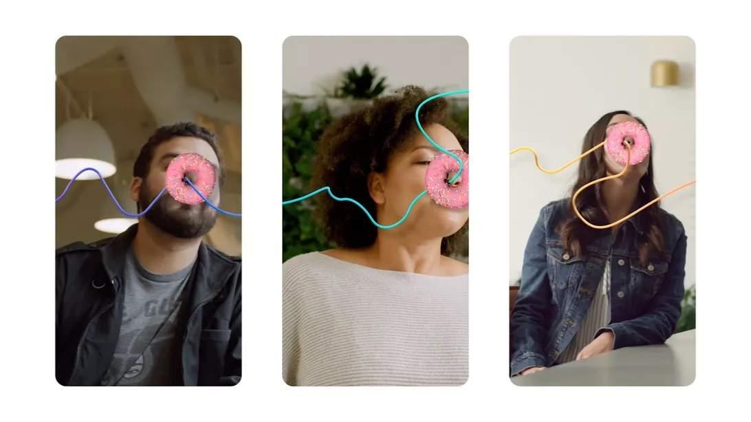 Facebook, Messenger ve Instagram video görüşmelerini daha eğlenceli hale getiriyor