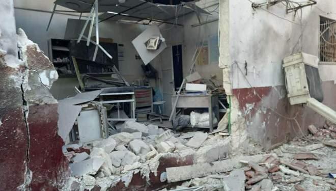 Afrin'de hastaneye saldırı: 13 sivil hayatını kaybetti