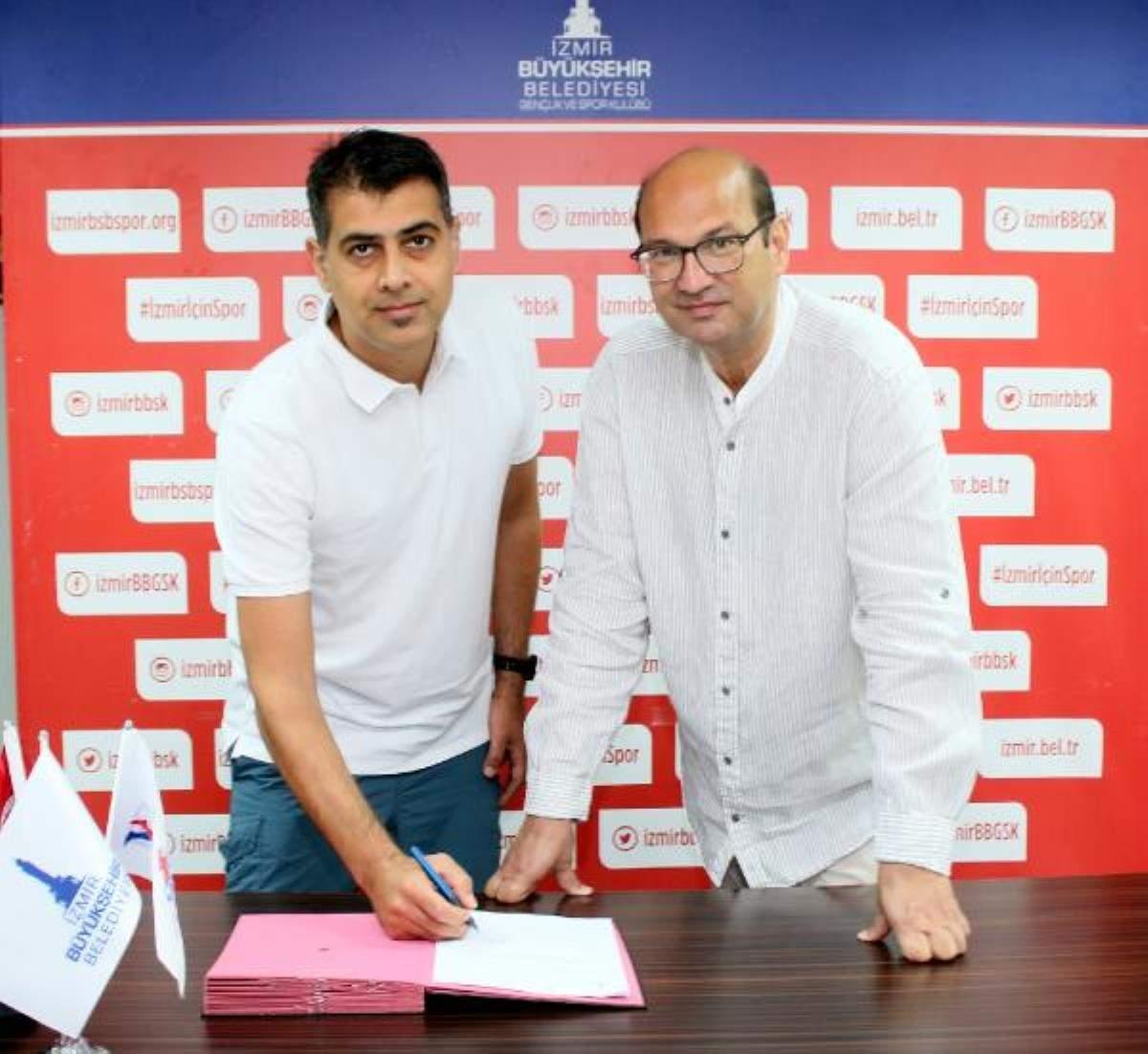 İzmir BŞB hentbolda Gençoğlu yla imzaladı