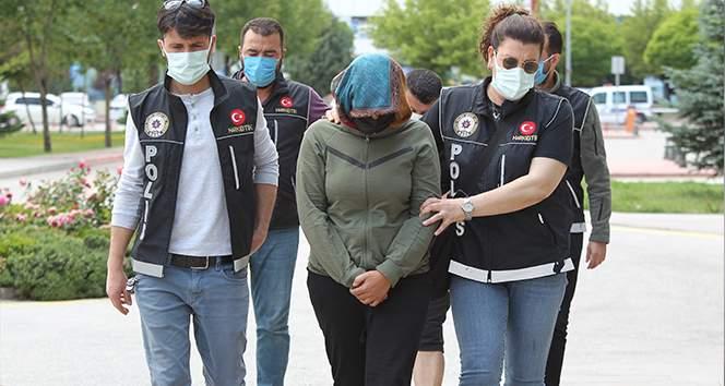 Konya'da Kadir Şeker'in kurtarmak istediği Ayşe Dırla'nın kız kardeşi de uyuşturucudan tutuklandı