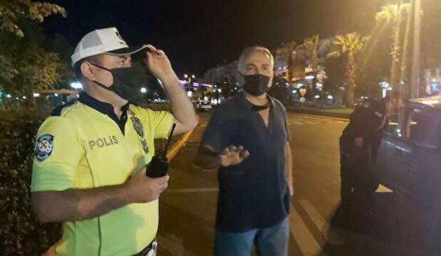 Polislere beddua eden alkollü yolcu gözaltına alındı