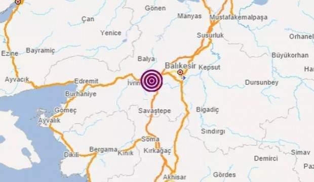 Son Dakika Haberi: Balıkesir'de 3.5 büyüklüğünde deprem meydana geldi