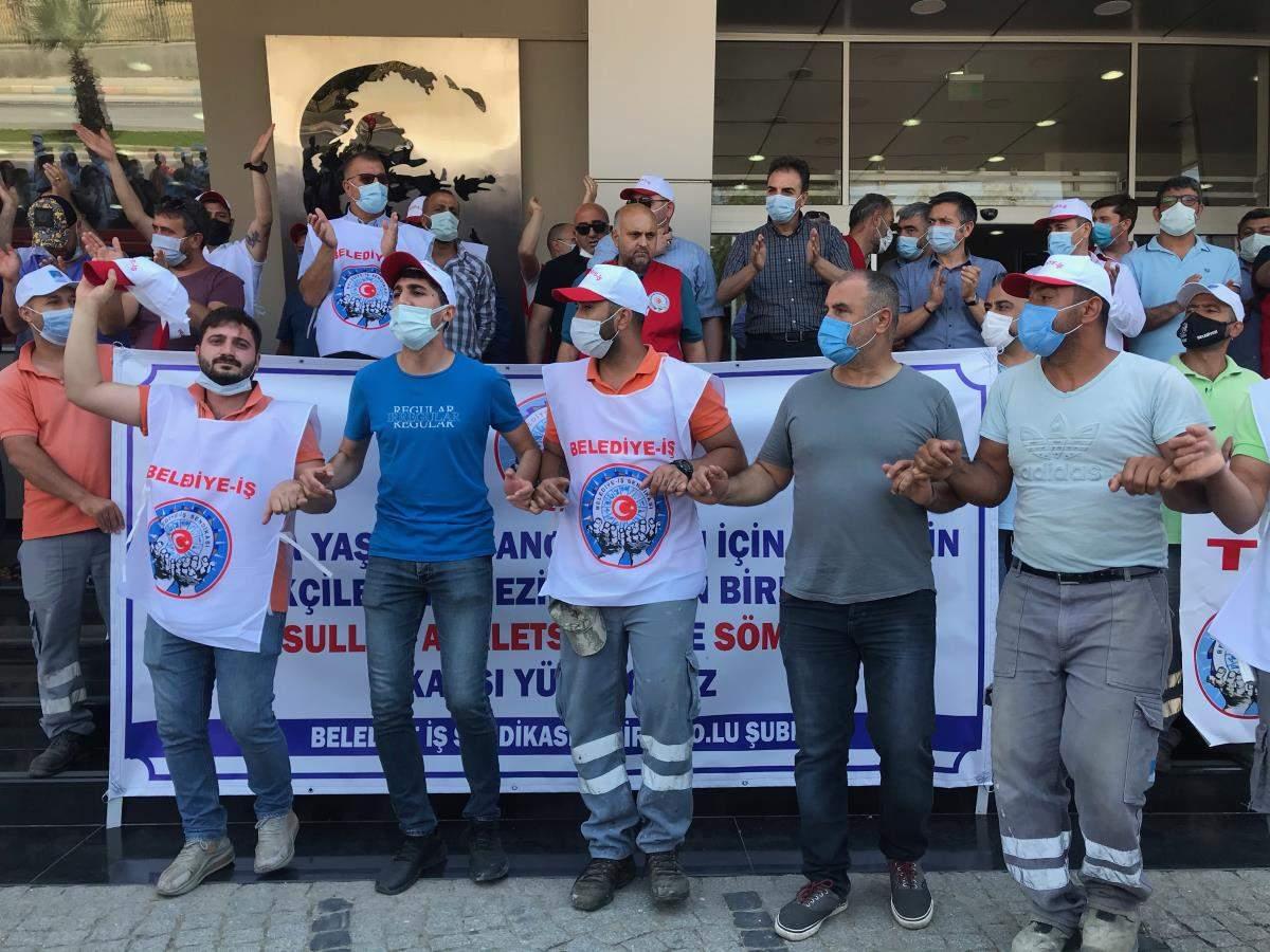 Son dakika haberleri: Narlıdere Belediyesinin şirketi Nar-Bel de grev kararı alındı