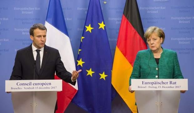 Son dakika: Merkel ve Macron'dan Türkiye açıklaması!