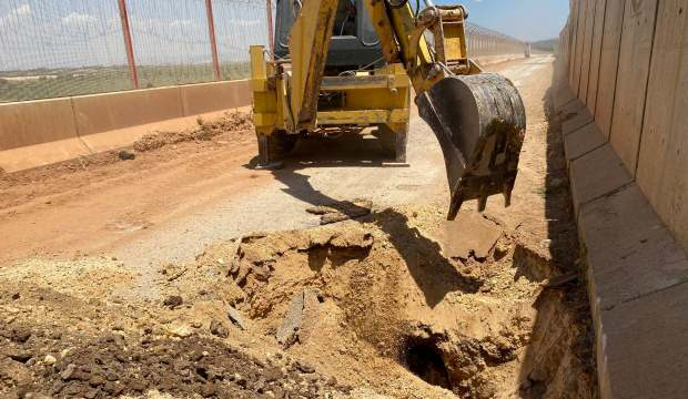 Suriye'den Türkiye'ye kazılan tünel, Mehmetçiğin dikkatinden kaçmadı