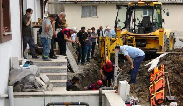 Zonguldak'ta arkadaşına yardıma gelen asker, toprak altında can verdi