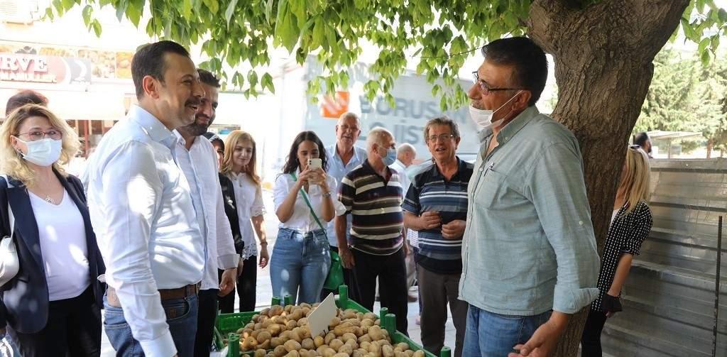 Gaziemir'de Emrez ve Aktepe Mahallesinde 'Dönüşüm yok CHP eziyeti var'
