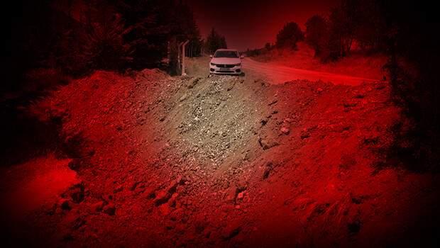 Amasya'da aynı aileden 5 kişiye mezar olmuştu! Yol kapatıldı… Son anları kamerada