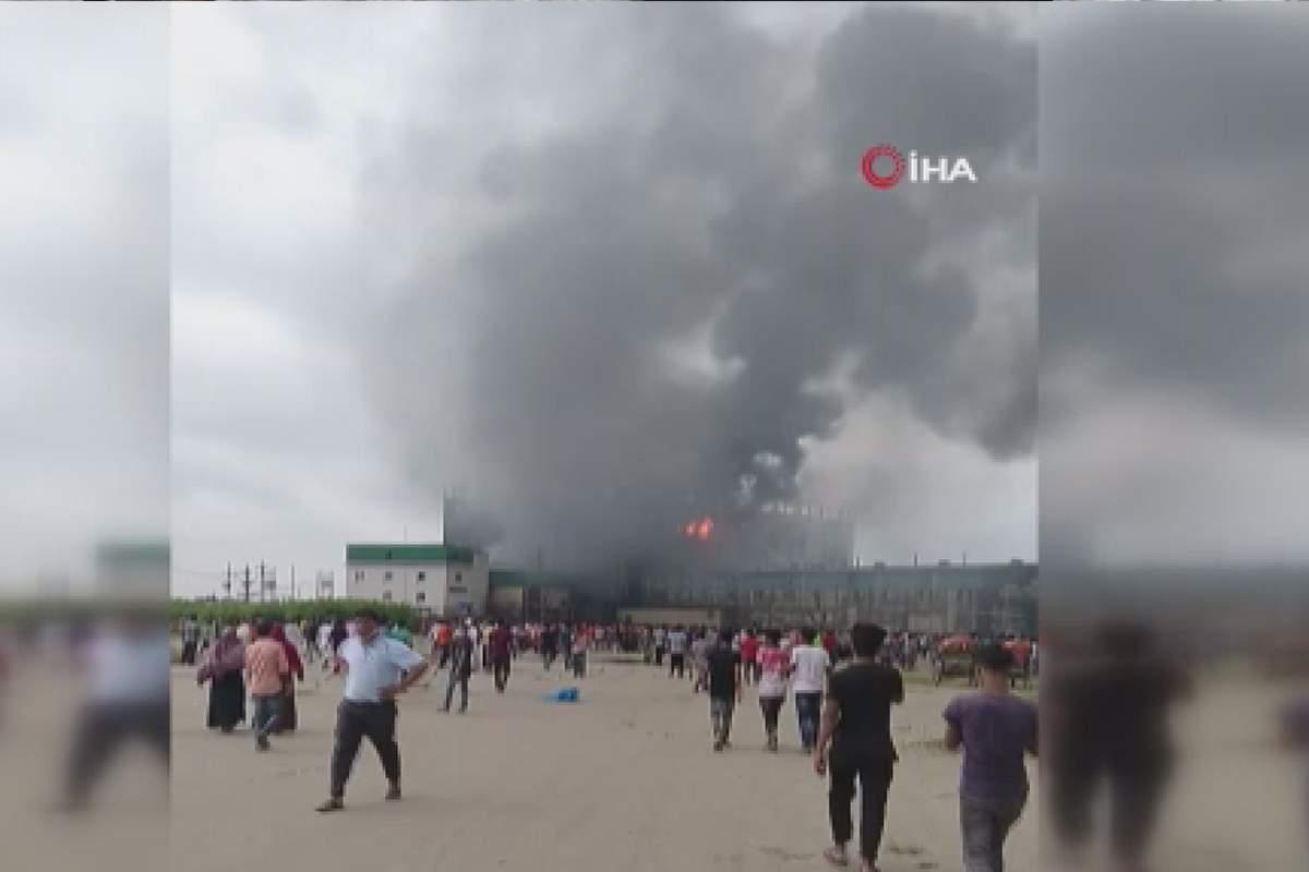 Bangladeş'te fabrika yangını! Çok sayıda ölü var